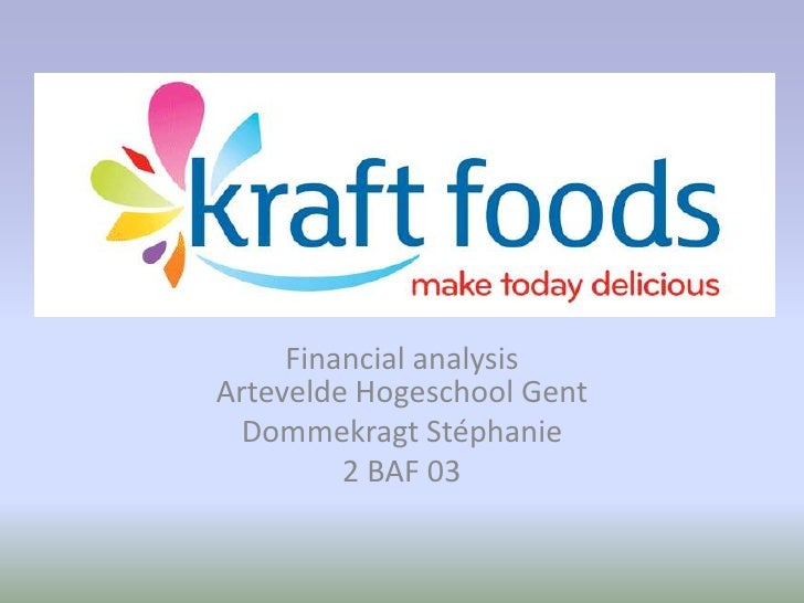 kraft inc marketing strategy analysis Kraft foods inc was an the firm was initially set up to execute on a rollup strategy in the the company tested the marketing power of the emerging.