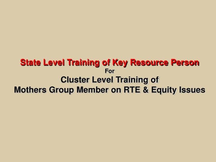Presentation krp training 28th jan