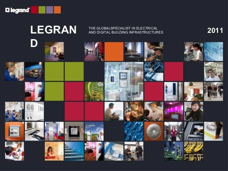Presentation legrand group 2011 en
