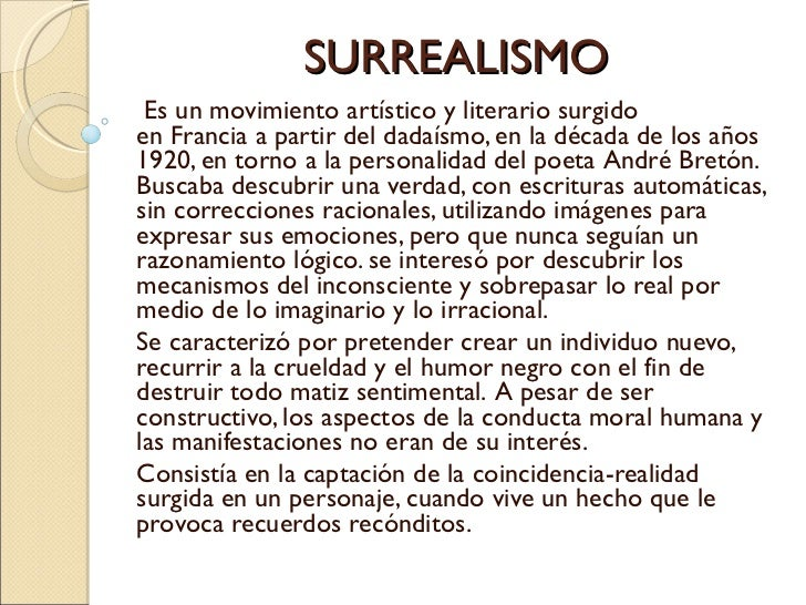 poemas surrealistas