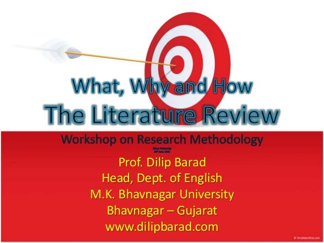 Purpose of a literature review in a thesis