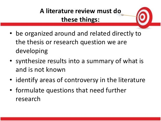 Literature review on qualitative research