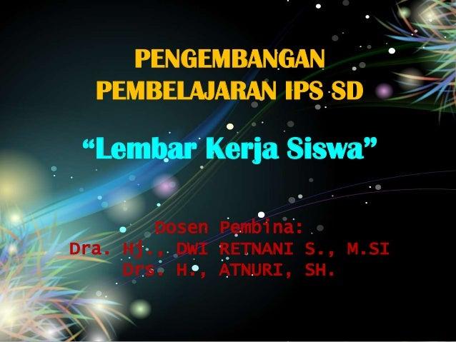Presentation LKS