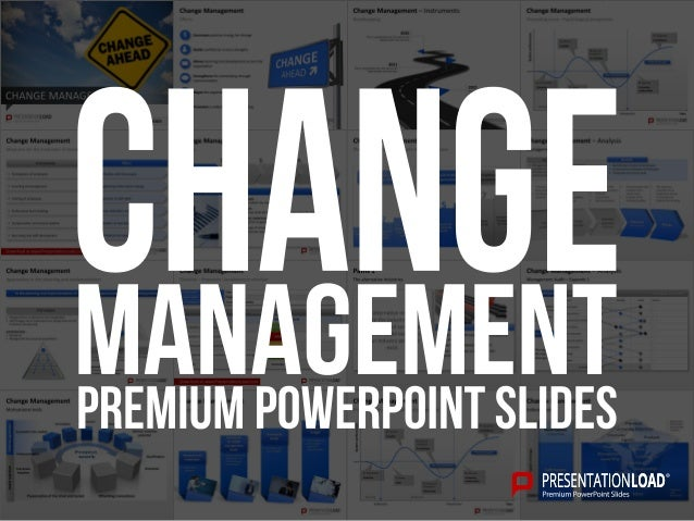 Change Management PowerPoint Template e26R16TS