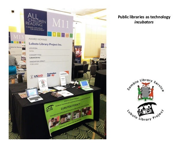 Public  libraries  as  technology   incubators
