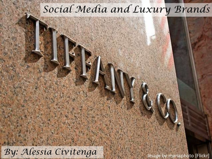 Social Media and Luxury BrandsBy: Alessia Civitenga     Image by:mariaphoto [Flickr]