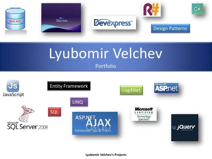 Presentation Lyubomir Velchev