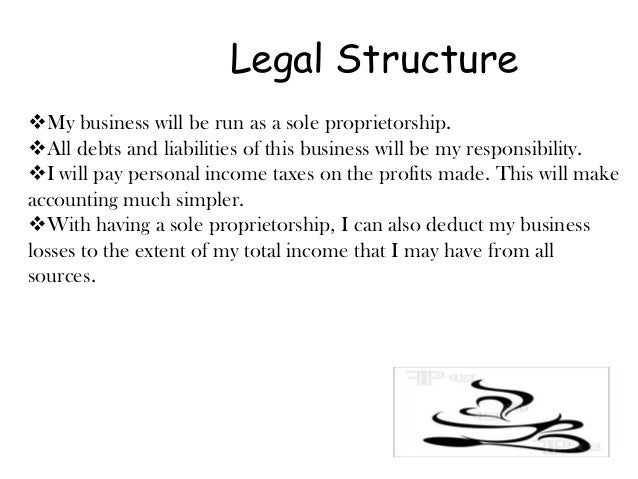 What would be the best Legal Structure for a smoothie shop?