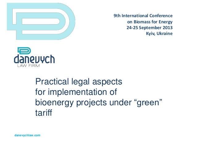 Presentation by Maksym Sysoiev_for Biomass Conference_September 2013