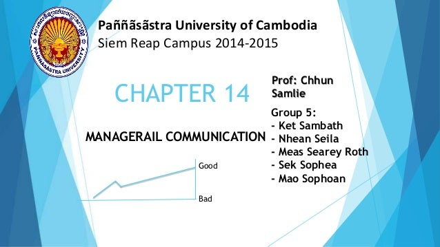 Presentation management chapter 14