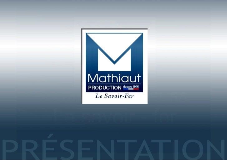 Presentation mathiaut