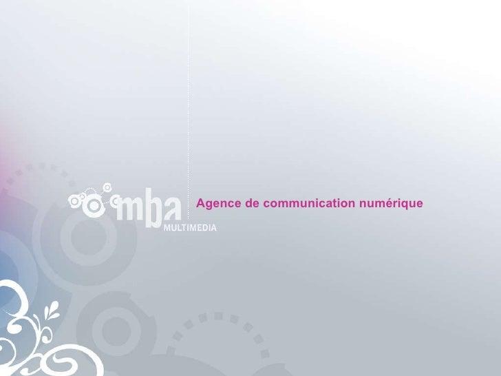 Agence de communication numérique