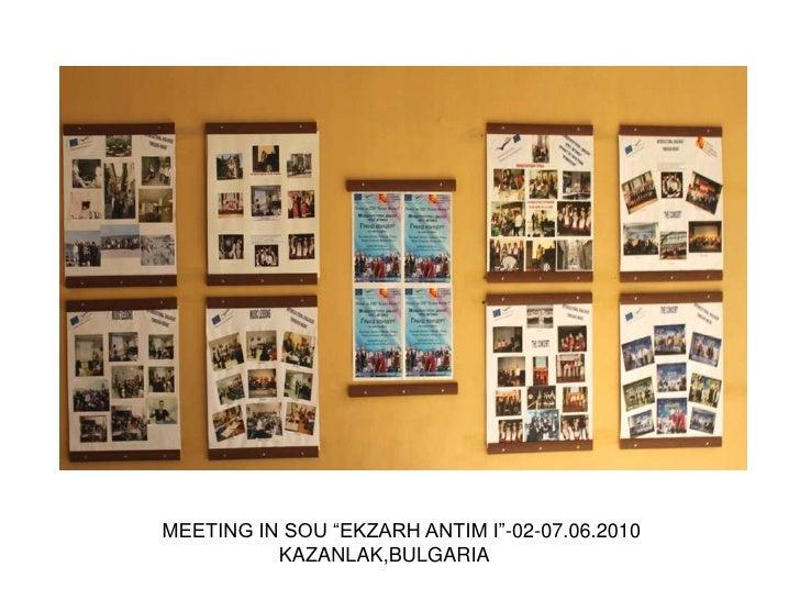 Meeting in Kazanlak Bulgaria
