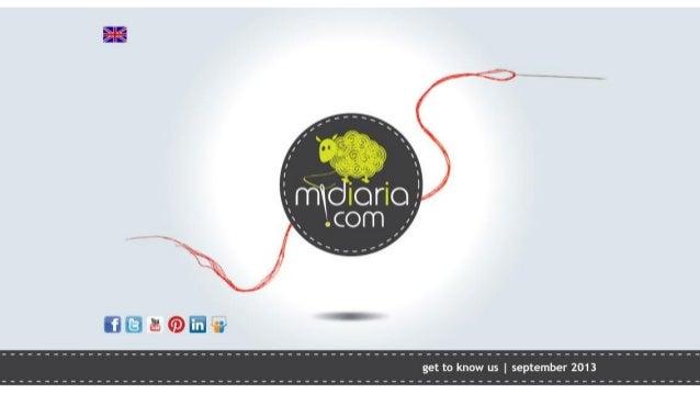 midiaria.com | get to know us | EN
