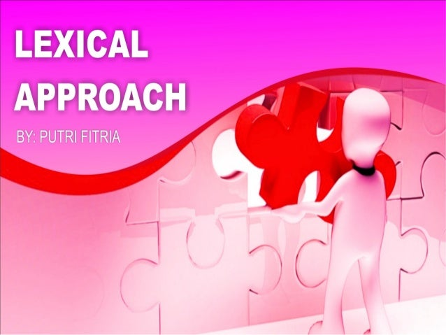Lexical approach Presentation