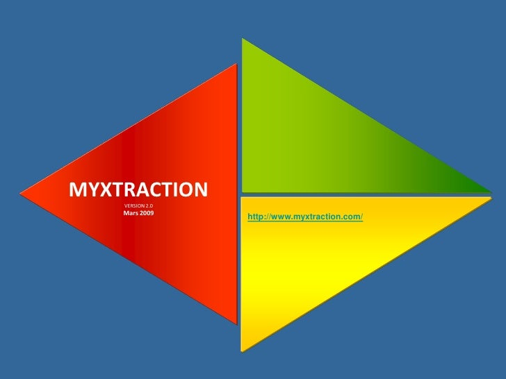 MYXTRACTION     VERSION 2.0     Mars 2009                   http://www.myxtraction.com/