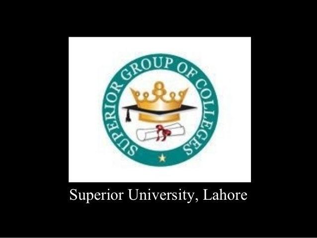 Superior University, Lahore