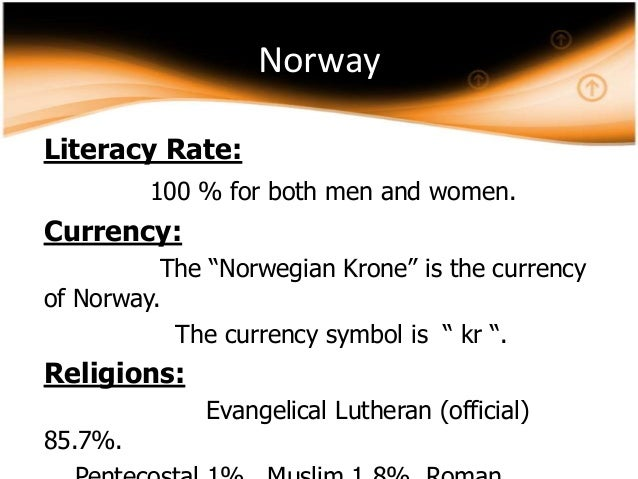 "Norway Currency Symbol The Currency Symbol is "" kr """