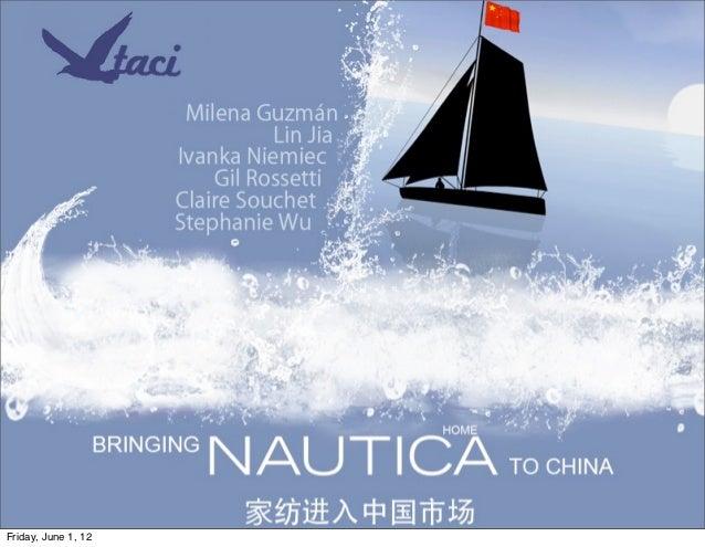 Presentation nautica