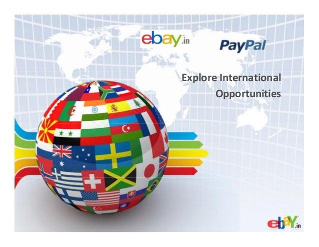 Explore InternationalOpportunities