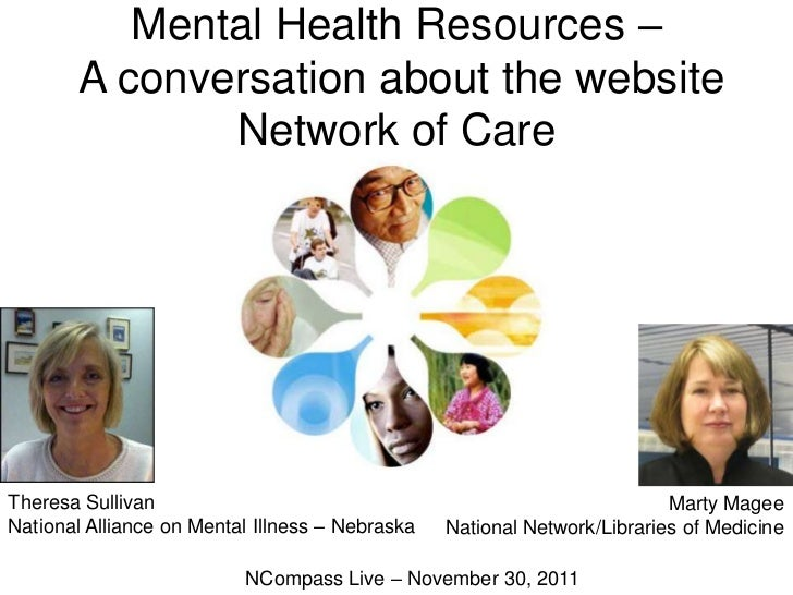NCompass Live: Mental Health Resources - A conversation about the website Network of Care