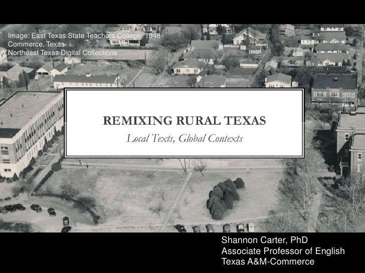 Image: East Texas State Teachers College, 1948<br />Commerce, Texas<br />Northeast Texas Digital Collections<br />Shannon ...