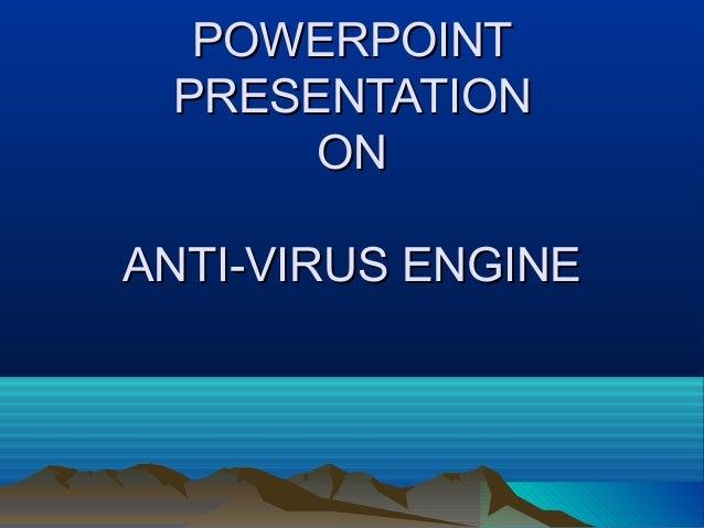 Antivirus engine