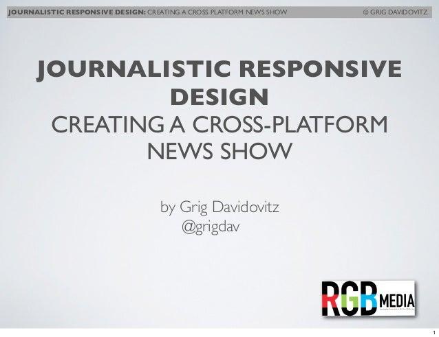 Grig Davidovitz, RGB Media