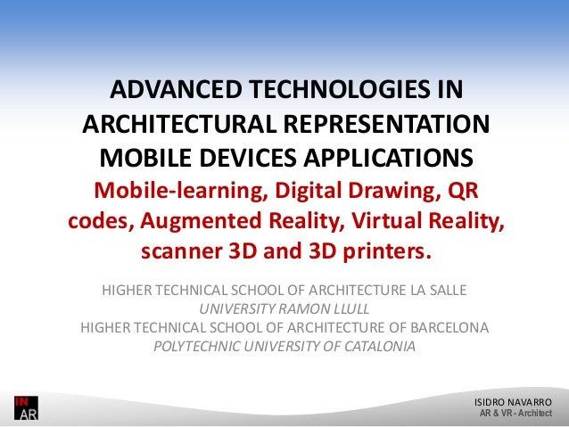 Advanced Technologies in Architecture