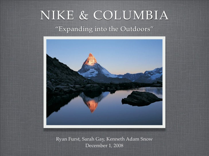 Presentation Nike Columbia.Pdf