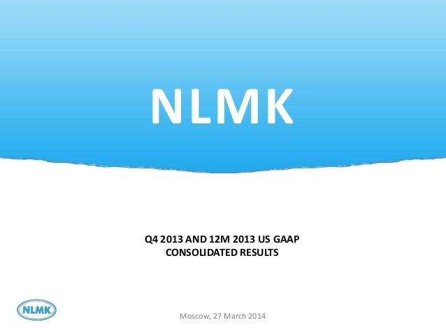 NLMK Presentation 2013