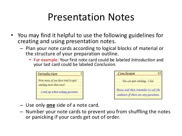 example note card research paper