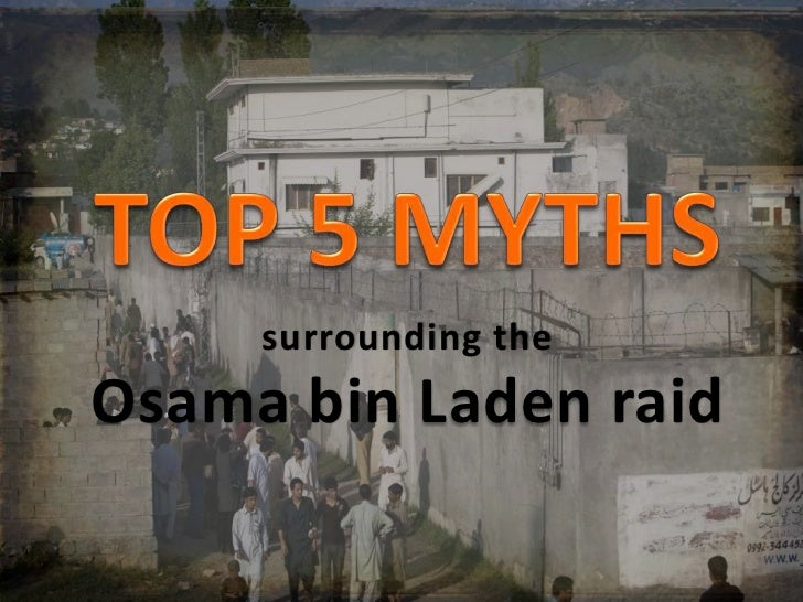 surrounding theOsama bin Laden raid