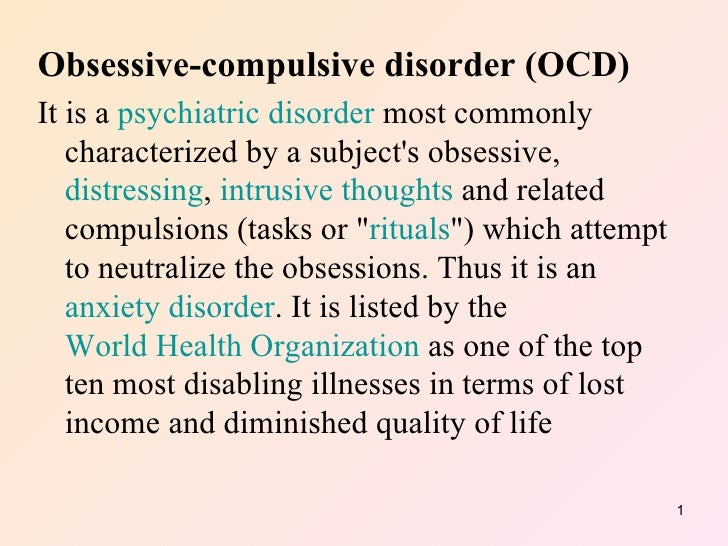 how to get rid of ocd intrusive thoughts