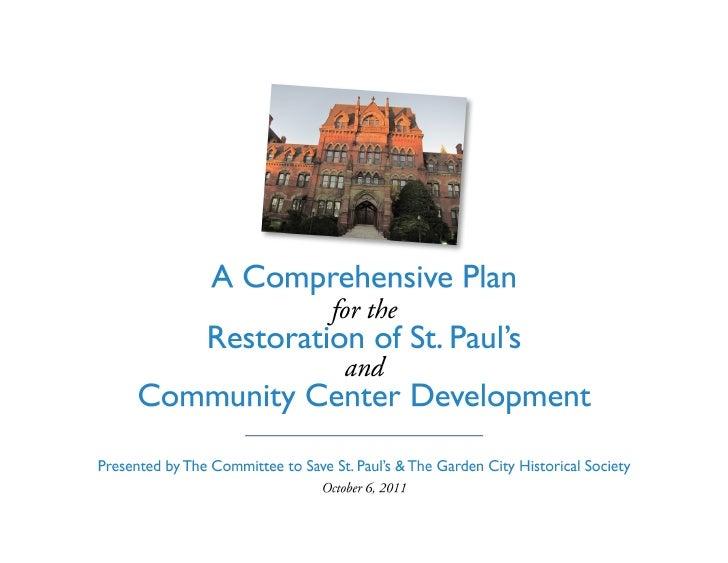 Save St. Pauls Presentation