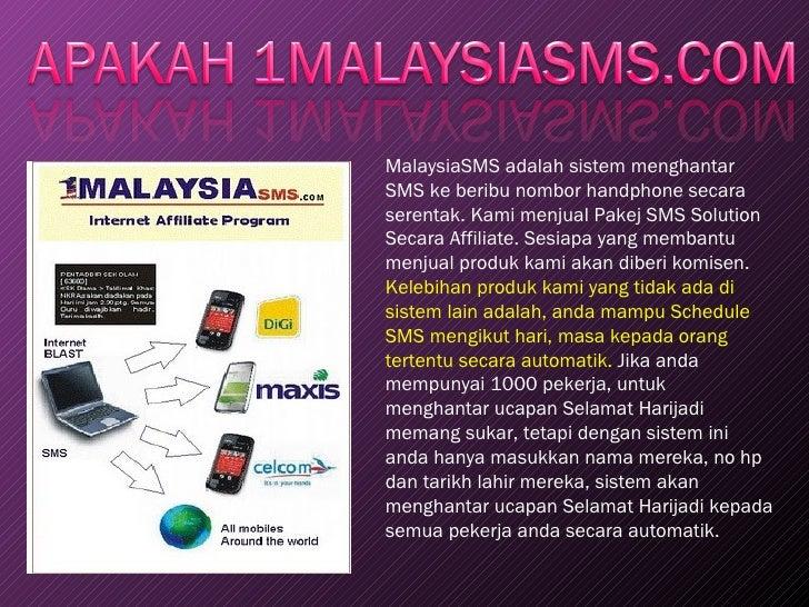 Presentation Of 1 Malaysiasms Com
