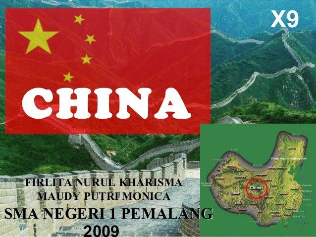 Presentation of china