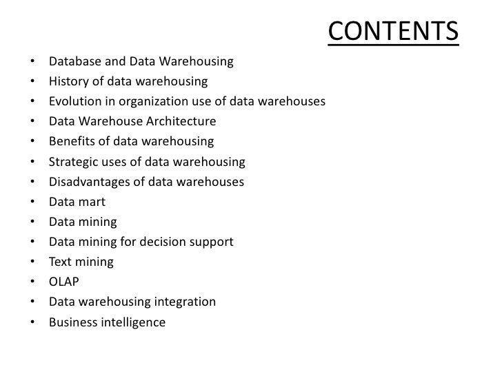 Data Warehousing and Data Mining: Information- Study…