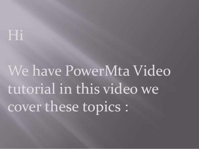 Power Mta 4.0