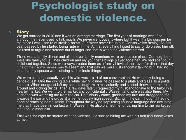 thesis on domestic violence in pakistan Domestic violence in pakistan is an endemic social and public health problem  according to a study carried out in 2009 by human rights watch, it is estimated.
