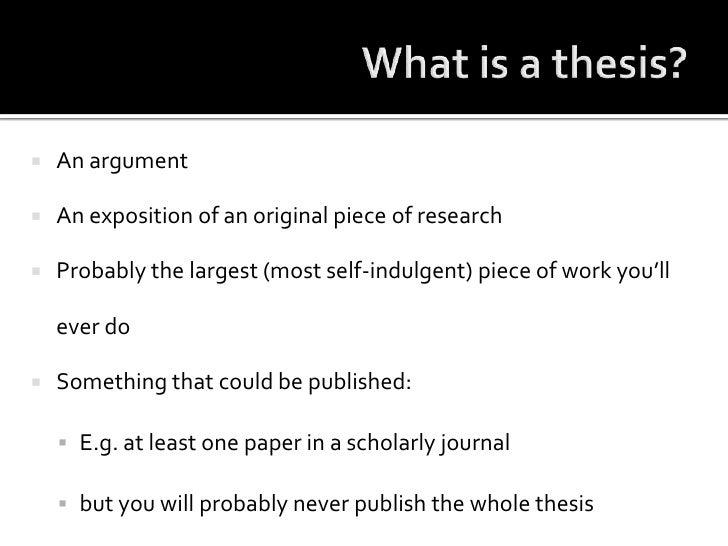 Shortest dissertation for a phd