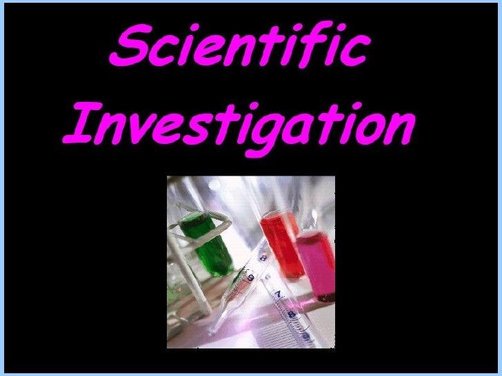 Presentation Of Scientific Method With Quiz Rr Version