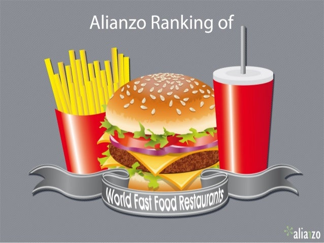 IndexProposalTop 10 Fast Food World Brands in social networksRanking at February 2013Presentation of top 3 positionsP...