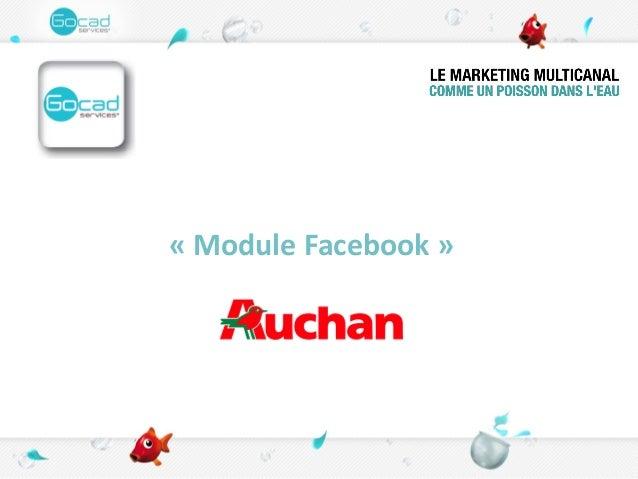« Module Facebook »