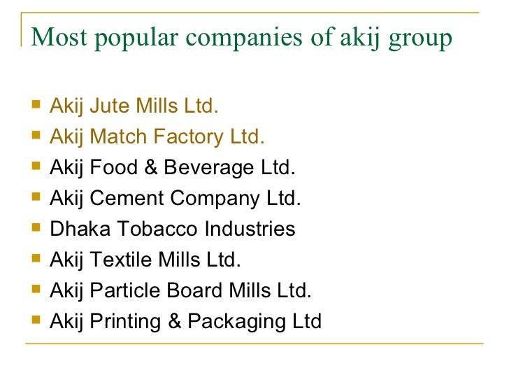 akij group See what employees say about what it's like to work at akij group salaries, reviews and more - all posted by employees working at akij group.