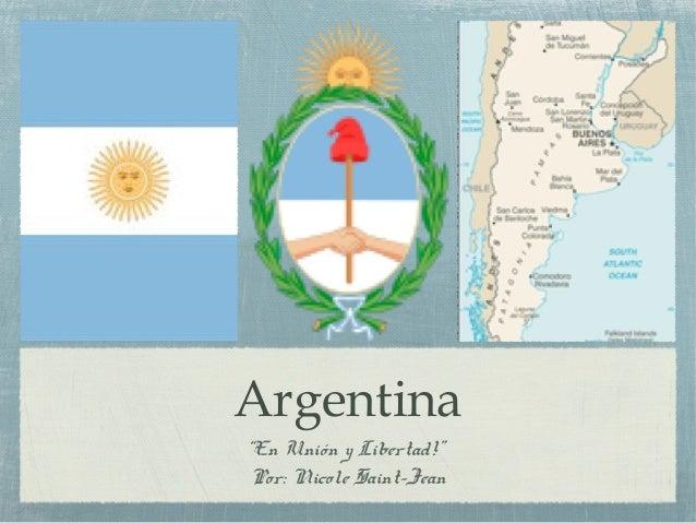 Presentation on argentina