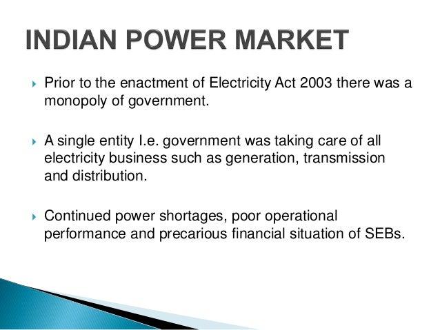 bidding strategies in indian restructured power market