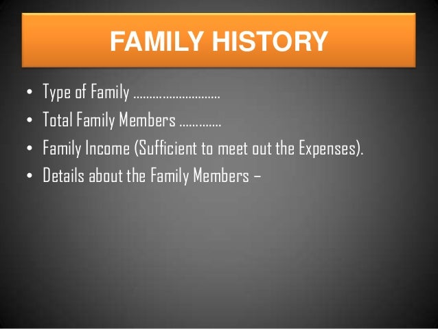 essay introduce about family