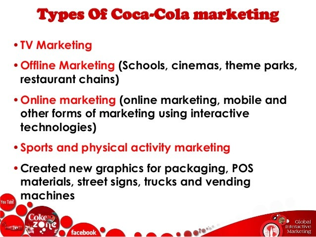 marketing plan coca cola marketing essay Marketing is vital for coke to maintain its competitiveness marketing and  advertising are designed to make customers brand loyal while.