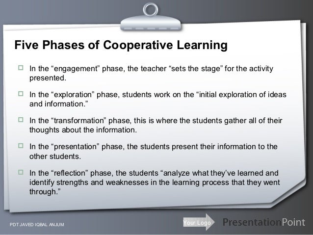 thesis statement for cooperative learning In a secondary classroom through cooperative strategies second proposed thesis statement : this thesis cooperative learning in mathematics thesis cooperative.
